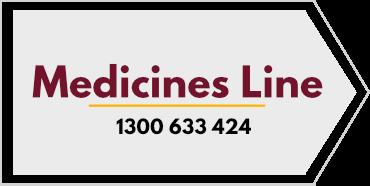 Medicines Line - 1300 633 424