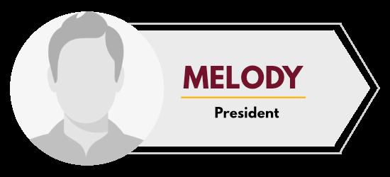 Melody - President